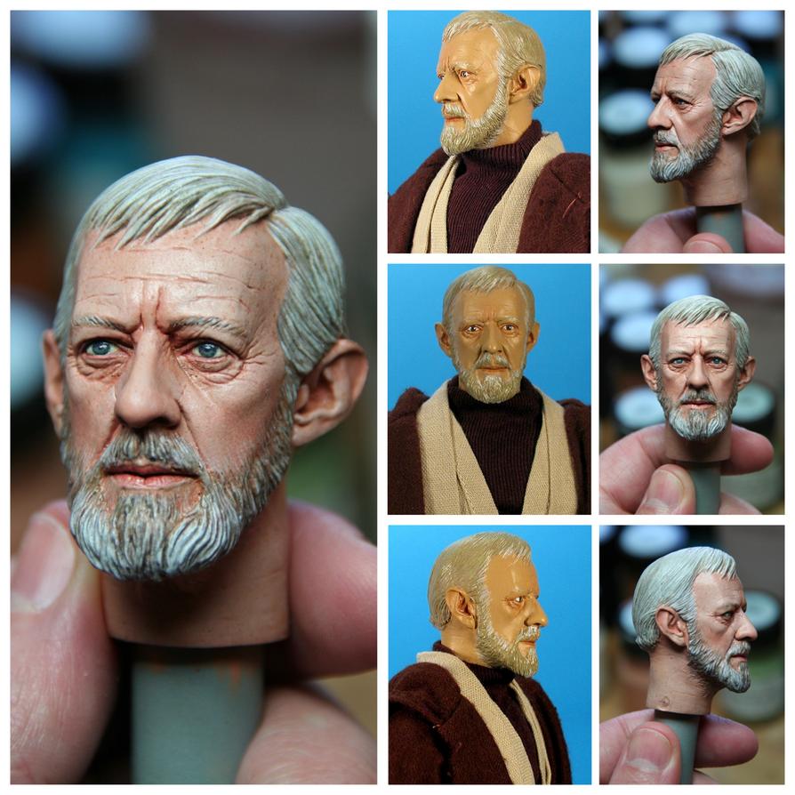 Ben Kenobi repaint. by DarrenCarnall