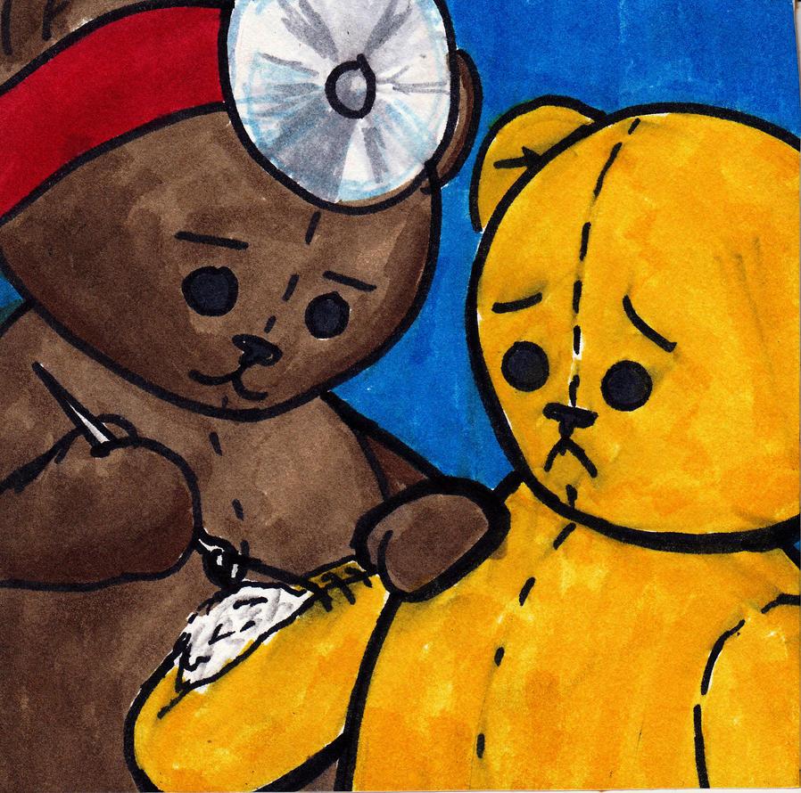 Teddy Bear Surgery by StatusDelirious