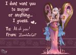 Heartseeker Morgana sends her Binding Love!