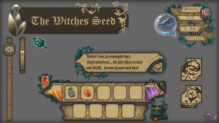 Witches Seed UI Concept by ZombieCeli