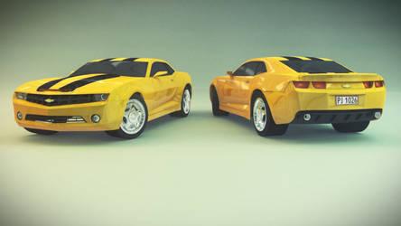 3D Chevrolet Camaro by Petreck