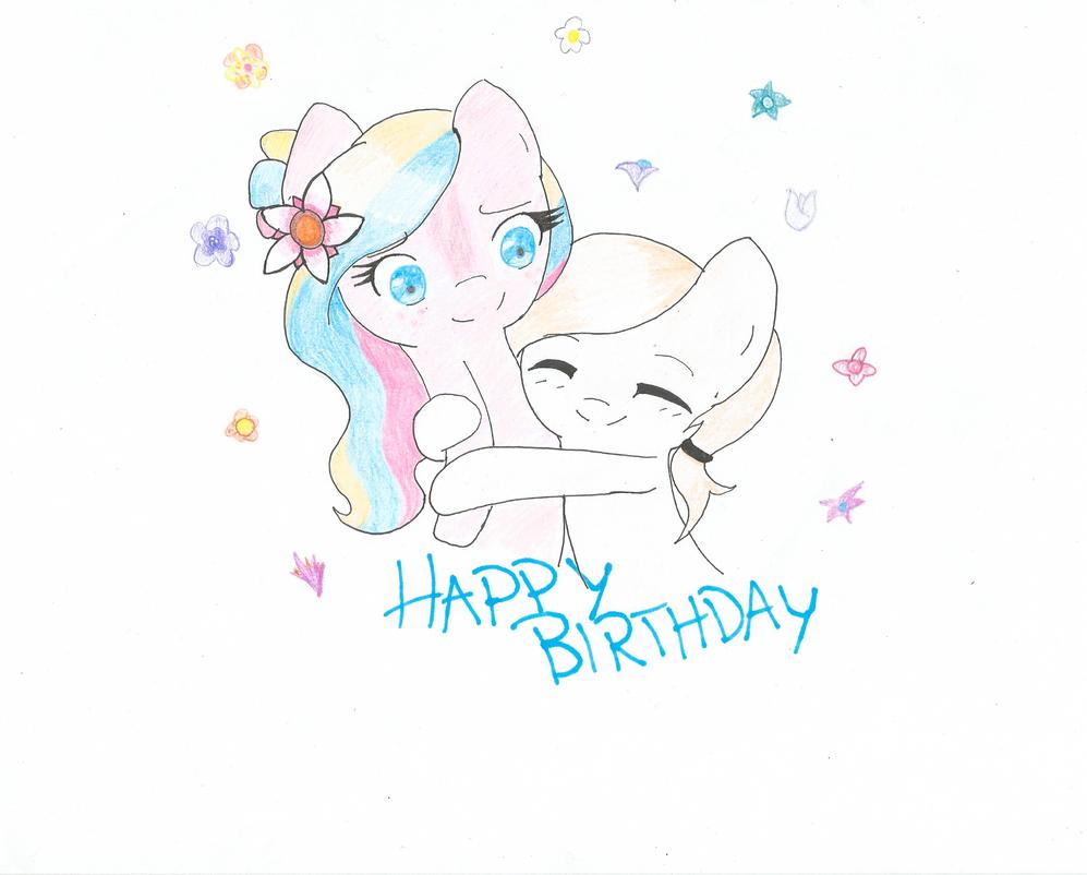 Happy Birthday Reporter-Derpy by PrincessSummer