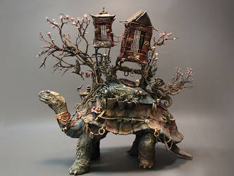 Tortoise of Burden by creaturesfromel