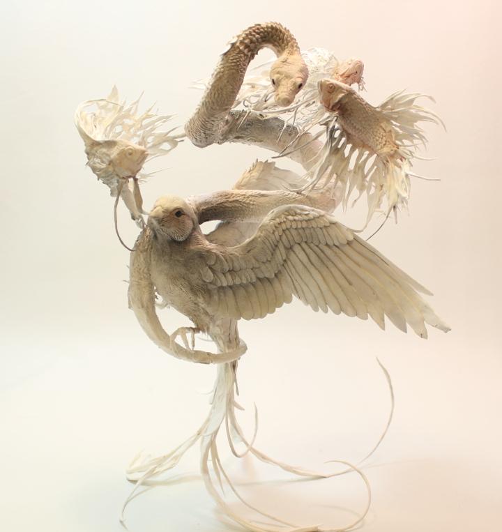 Bird Serpent Fish by creaturesfromel