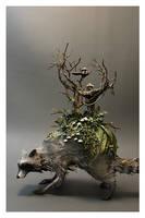 Raccoon by creaturesfromel