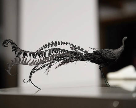 Lyre Bird WIP shot by creaturesfromel