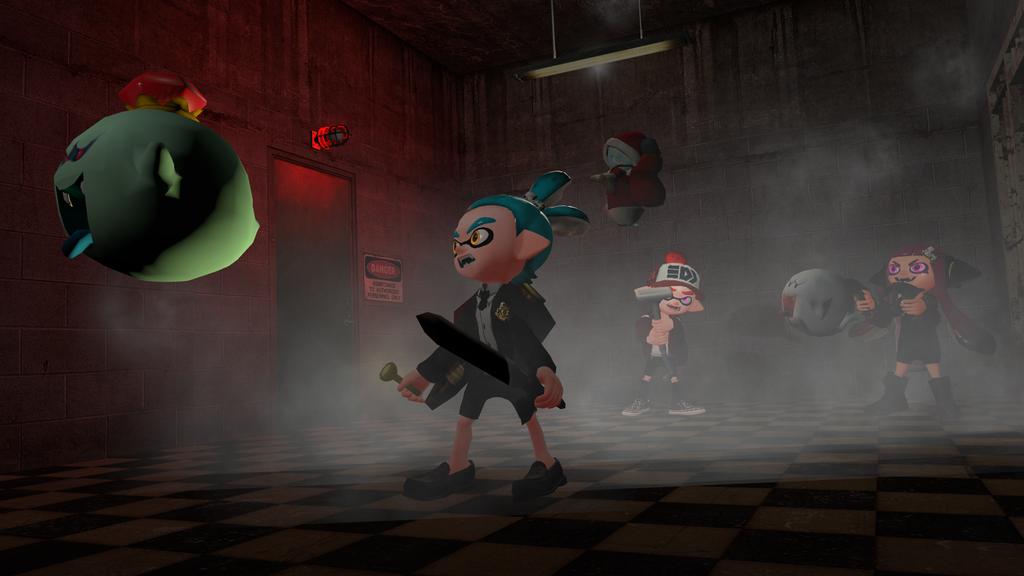 Fighting Ghost by Zeldaboy14