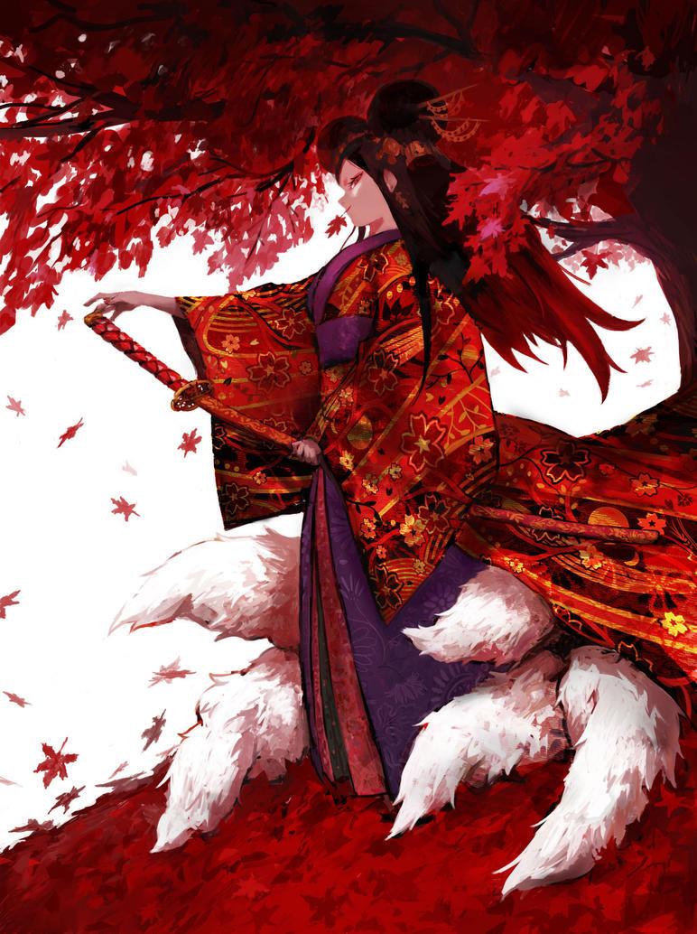 Kitsune by jijasddd