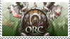 WoW: Orc stamp by RealmKnight