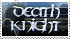 Wow: Death Knight stamp by RealmKnight