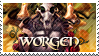 WoW: Worgen stamp