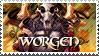 WoW: Worgen stamp by RealmKnight