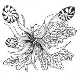 Organic tangle assignment 1/2014