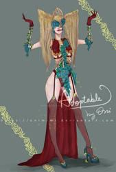  CLOSED  ADOPTABLE + Sketch: Countess