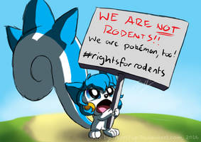 Rights for Rodents by TarriPup