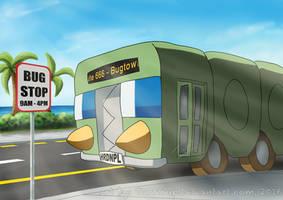 Charjabug, the Bus-Type Pokemon by TarriPup