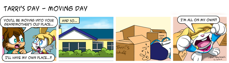 Tarri's Day - Moving Day