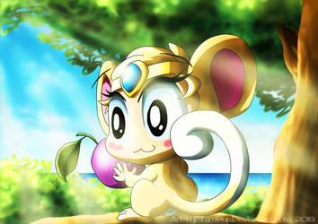 Tarri - Shantae, Half-Genie Monkey Form by TarriPup