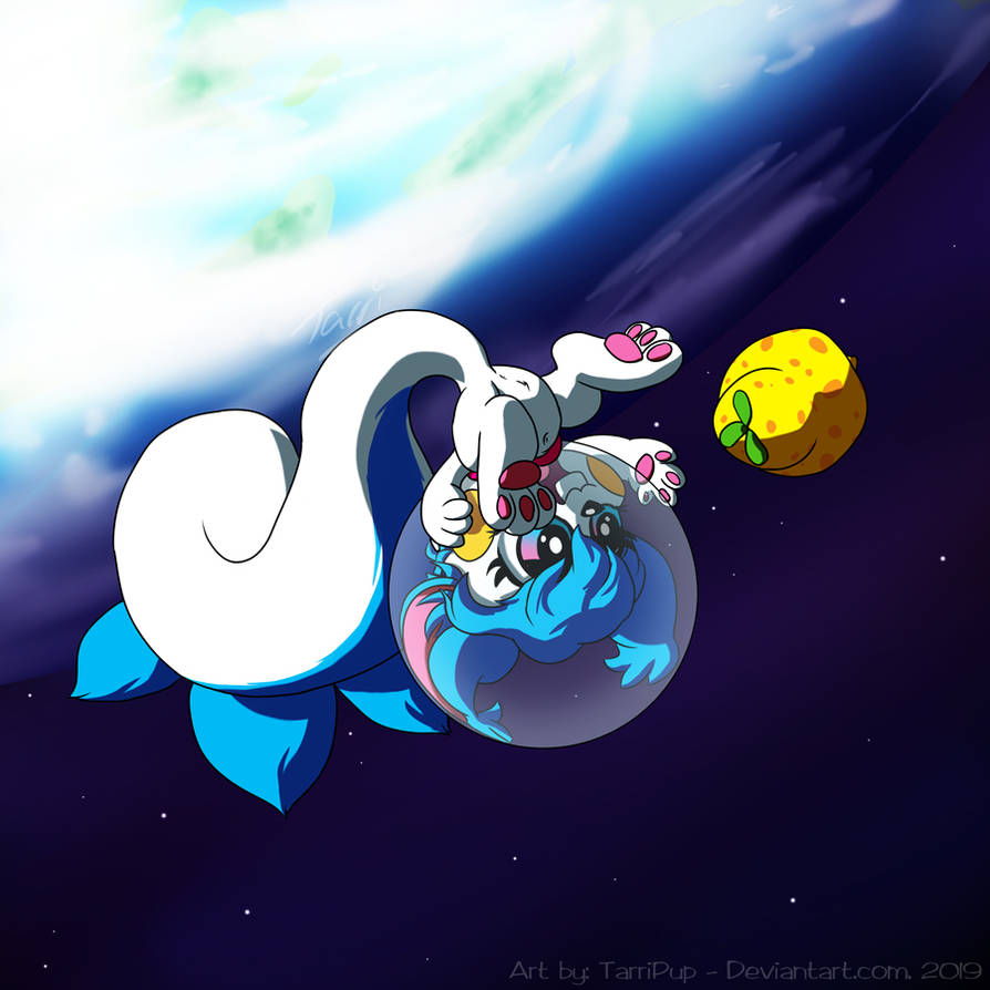 Space Pachirisu! by TarriPup