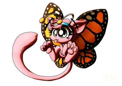 Charity Collaboration - Mewnarch Butterfly