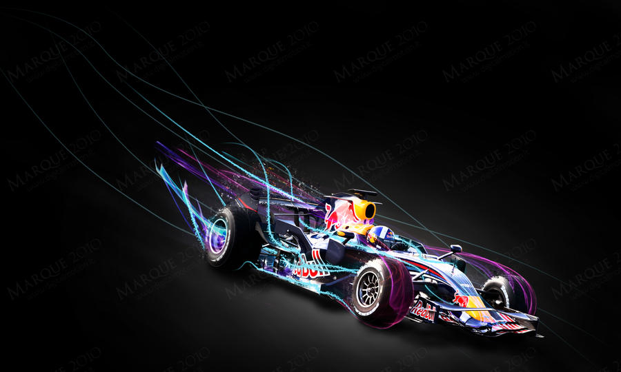 Red Bull formula 1 by SingleDual
