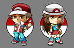 Pkmn Firered Leafgreen Trainer Chibi