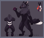 Black Wolf Adopt Auction [Closed]