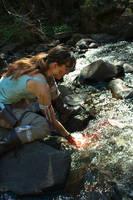 Tomb Raider Reborn - Washing by ShonaAdventures
