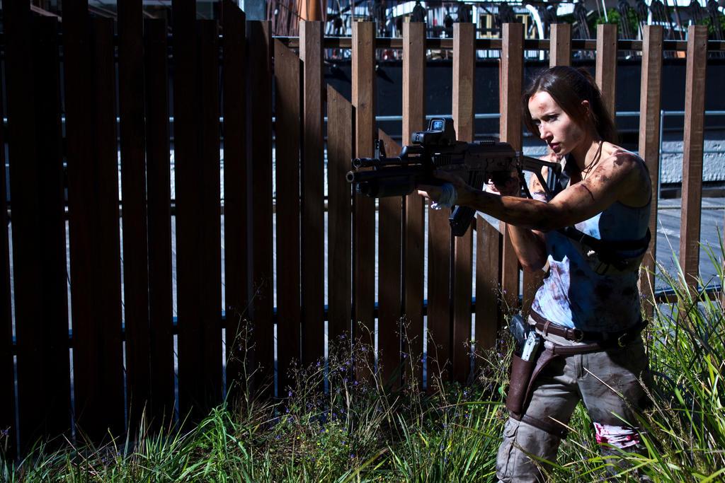 Lara Croft - Ready, Aim... by ShonaAdventures