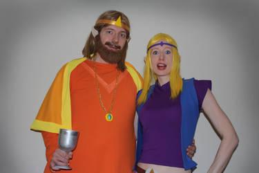 Zelda CD-i: The King and Princess Zelda by ShonaAdventures