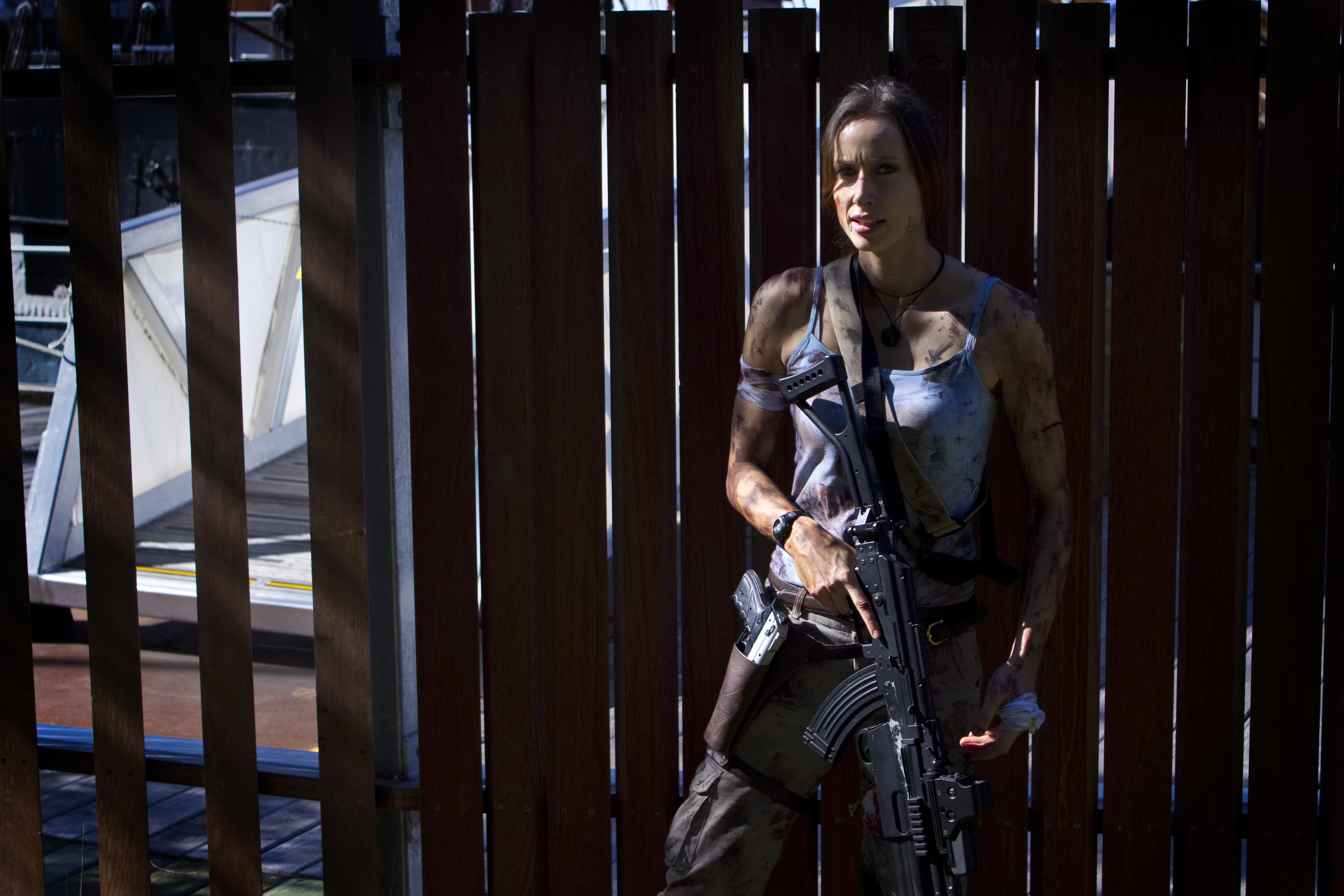Lara Croft - Rest by ShonaAdventures