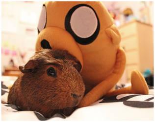 Uh, Jake? Hello? Please get off me... by Karen73