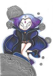Raven! Teen Titans! by Mooochiiart
