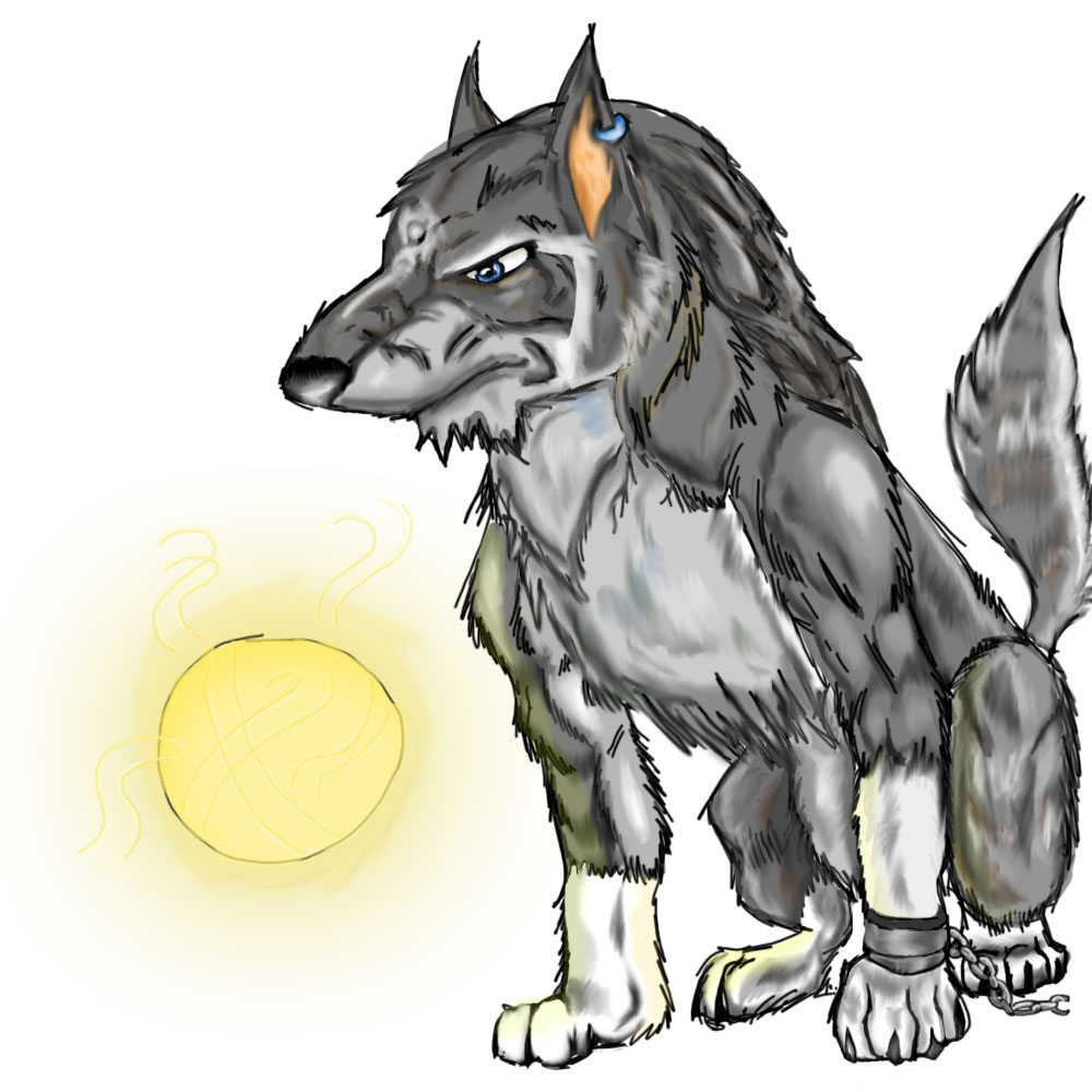 Wolf Link Twilight Princess Fan Art