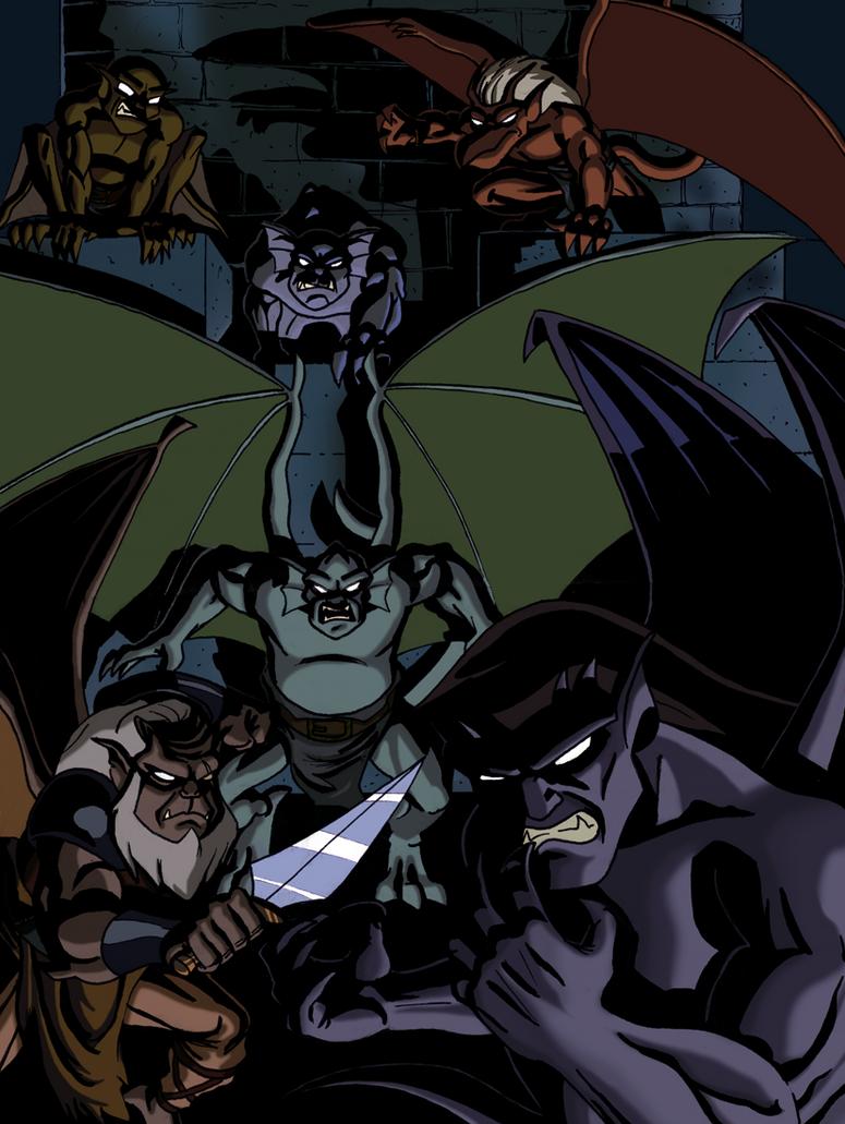 Gargoyles by ClarkyBoingo