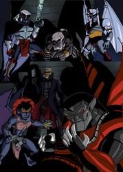 Gargoyles II by ClarkyBoingo