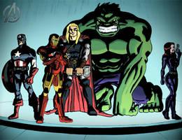 The Avengers by ClarkyBoingo