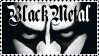 Black Metal stamp by wyldraven