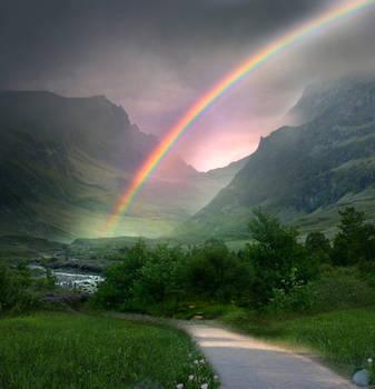 Rainbow Path STOCK