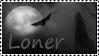 Loner stamp