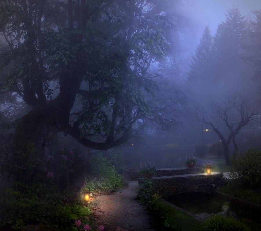 Misty Park II Stock by wyldraven