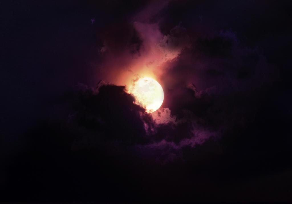 Moon II STOCK by wyldraven