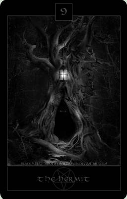 Black Metal Tarot 6