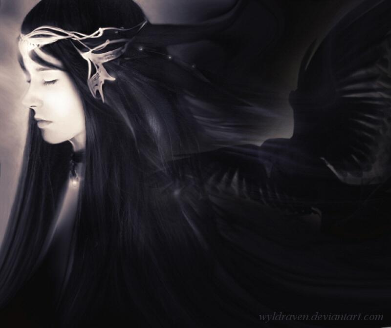 Raven Prince by wyldraven
