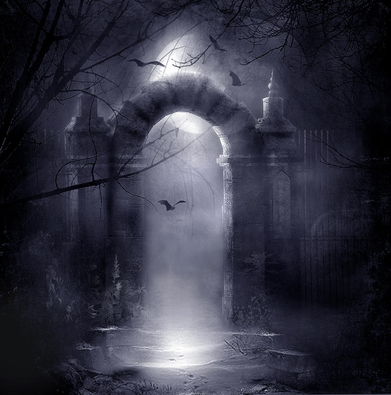 Gothic background stock by wyldraven on deviantart for Creepy gothic pictures