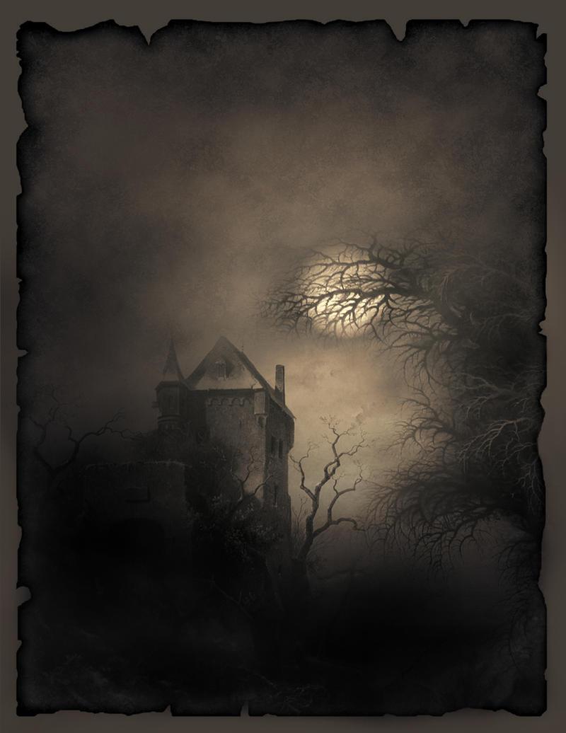Gothic Castle Literature Template