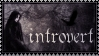 Introvert stamp by wyldraven