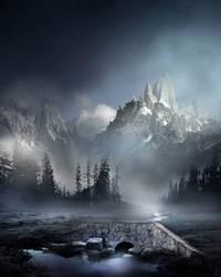 Mountain Landscape Stock V1