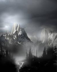 Mountain Landscape Stock V2 by wyldraven