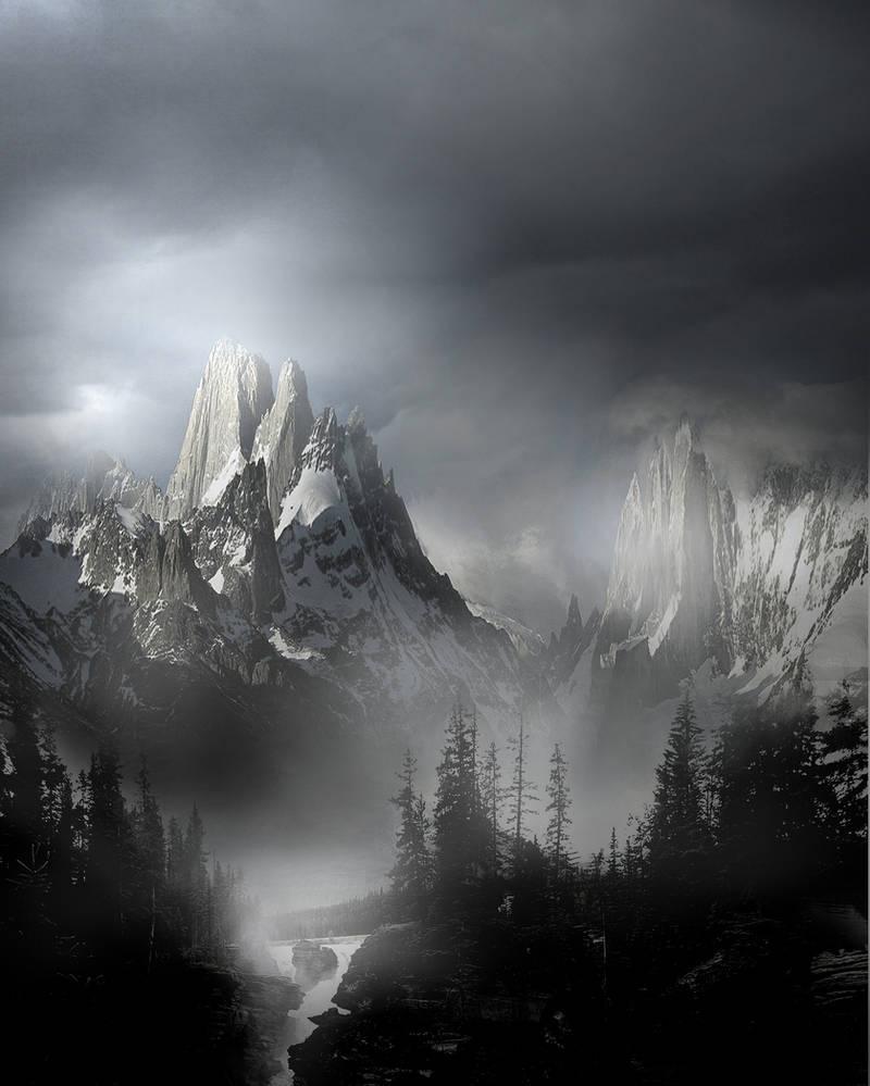Mountain Landscape Stock V2